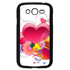 Heart Red Love Valentine S Day Samsung Galaxy Grand Duos I9082 Case (black)
