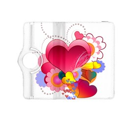 Heart Red Love Valentine S Day Kindle Fire Hdx 8 9  Flip 360 Case by Nexatart