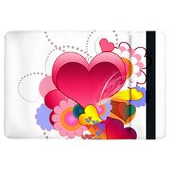 Heart Red Love Valentine S Day Ipad Air 2 Flip