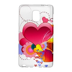 Heart Red Love Valentine S Day Galaxy Note Edge by Nexatart