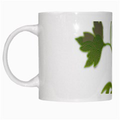 Element Tag Green Nature White Mugs by Nexatart