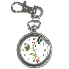Element Tag Green Nature Key Chain Watches by Nexatart