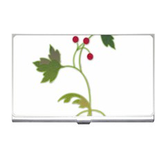 Element Tag Green Nature Business Card Holders