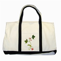 Element Tag Green Nature Two Tone Tote Bag
