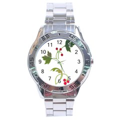 Element Tag Green Nature Stainless Steel Analogue Watch by Nexatart
