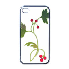Element Tag Green Nature Apple Iphone 4 Case (black)