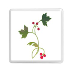 Element Tag Green Nature Memory Card Reader (square)  by Nexatart