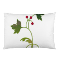 Element Tag Green Nature Pillow Case (two Sides)