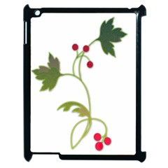 Element Tag Green Nature Apple Ipad 2 Case (black)