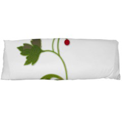 Element Tag Green Nature Body Pillow Case Dakimakura (two Sides) by Nexatart