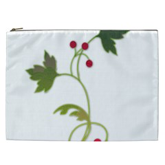 Element Tag Green Nature Cosmetic Bag (xxl)  by Nexatart
