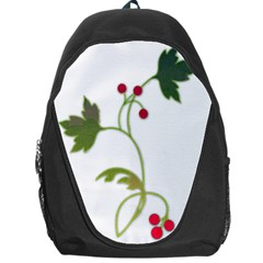 Element Tag Green Nature Backpack Bag by Nexatart