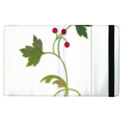 Element Tag Green Nature Apple Ipad 2 Flip Case by Nexatart