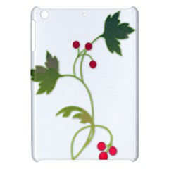 Element Tag Green Nature Apple Ipad Mini Hardshell Case by Nexatart