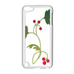 Element Tag Green Nature Apple Ipod Touch 5 Case (white) by Nexatart