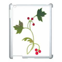 Element Tag Green Nature Apple Ipad 3/4 Case (white)