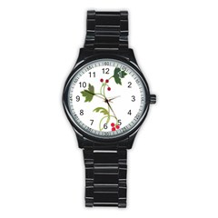Element Tag Green Nature Stainless Steel Round Watch