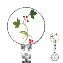 Element Tag Green Nature Stainless Steel Nurses Watch