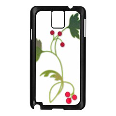 Element Tag Green Nature Samsung Galaxy Note 3 N9005 Case (black) by Nexatart