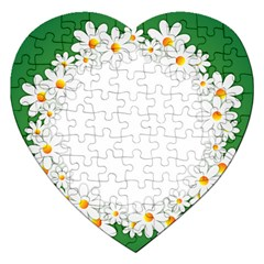 Photo Frame Love Holiday Jigsaw Puzzle (heart) by Nexatart
