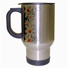 Photo Frame Love Holiday Travel Mug (silver Gray) by Nexatart