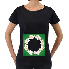 Photo Frame Love Holiday Women s Loose-Fit T-Shirt (Black) by Nexatart
