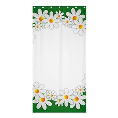 Photo Frame Love Holiday Shower Curtain 36  X 72  (stall)  by Nexatart