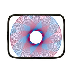Spirograph Pattern Drawing Design Netbook Case (small)  by Nexatart