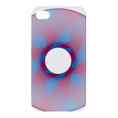Spirograph Pattern Drawing Design Apple Iphone 4/4s Premium Hardshell Case