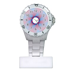 Spirograph Pattern Drawing Design Plastic Nurses Watch by Nexatart