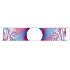 Spirograph Pattern Drawing Design Flano Scarf (large)