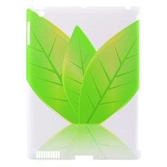 Leaves Green Nature Reflection Apple Ipad 3/4 Hardshell Case (compatible With Smart Cover) by Nexatart