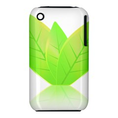 Leaves Green Nature Reflection Iphone 3s/3gs by Nexatart