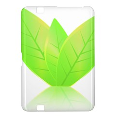 Leaves Green Nature Reflection Kindle Fire Hd 8 9  by Nexatart