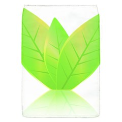 Leaves Green Nature Reflection Flap Covers (s)  by Nexatart