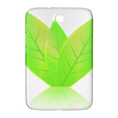 Leaves Green Nature Reflection Samsung Galaxy Note 8 0 N5100 Hardshell Case  by Nexatart