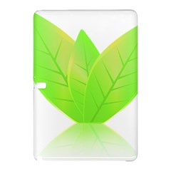 Leaves Green Nature Reflection Samsung Galaxy Tab Pro 10 1 Hardshell Case by Nexatart