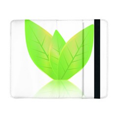 Leaves Green Nature Reflection Samsung Galaxy Tab Pro 8 4  Flip Case
