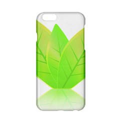 Leaves Green Nature Reflection Apple Iphone 6/6s Hardshell Case