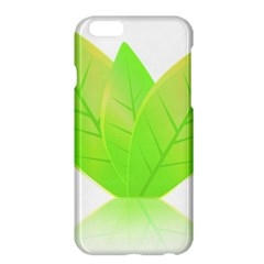 Leaves Green Nature Reflection Apple Iphone 6 Plus/6s Plus Hardshell Case
