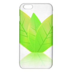 Leaves Green Nature Reflection Iphone 6 Plus/6s Plus Tpu Case