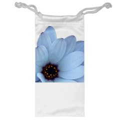 Daisy Flower Floral Plant Summer Jewelry Bag by Nexatart