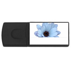 Daisy Flower Floral Plant Summer Usb Flash Drive Rectangular (4 Gb)
