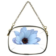 Daisy Flower Floral Plant Summer Chain Purses (two Sides)  by Nexatart