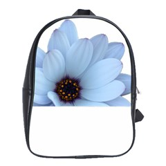 Daisy Flower Floral Plant Summer School Bags(large)  by Nexatart