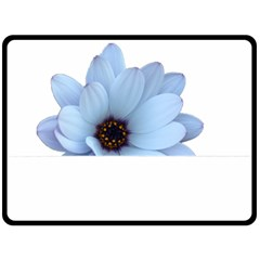 Daisy Flower Floral Plant Summer Double Sided Fleece Blanket (large)  by Nexatart