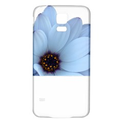 Daisy Flower Floral Plant Summer Samsung Galaxy S5 Back Case (white)
