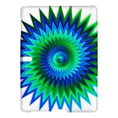Star 3d Gradient Blue Green Samsung Galaxy Tab S (10 5 ) Hardshell Case