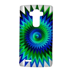 Star 3d Gradient Blue Green Lg G4 Hardshell Case