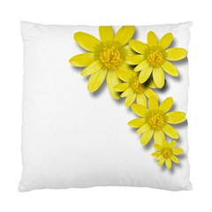 Flowers Spring Yellow Spring Onion Standard Cushion Case (two Sides)